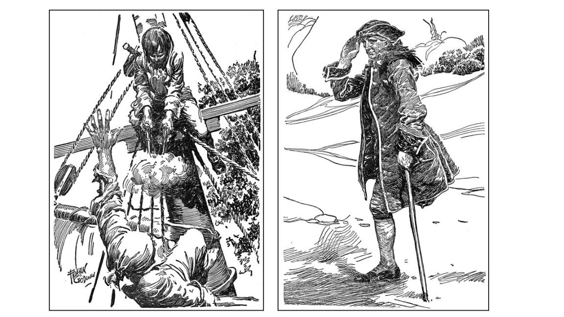 piratas frank godwin
